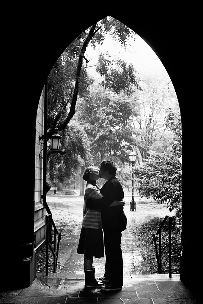 University of Chicago Archway Engagement Photography, Illinois Wedding Photographer