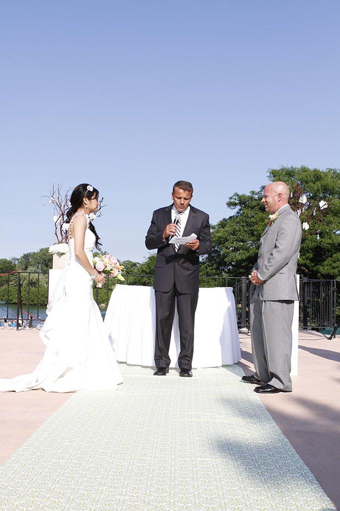 Valley Lo Club Wedding Ceremony