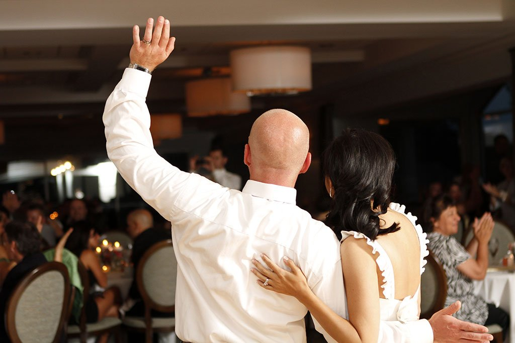 Valley Lo Club Wedding Reception Dance, Liz & Brian Married
