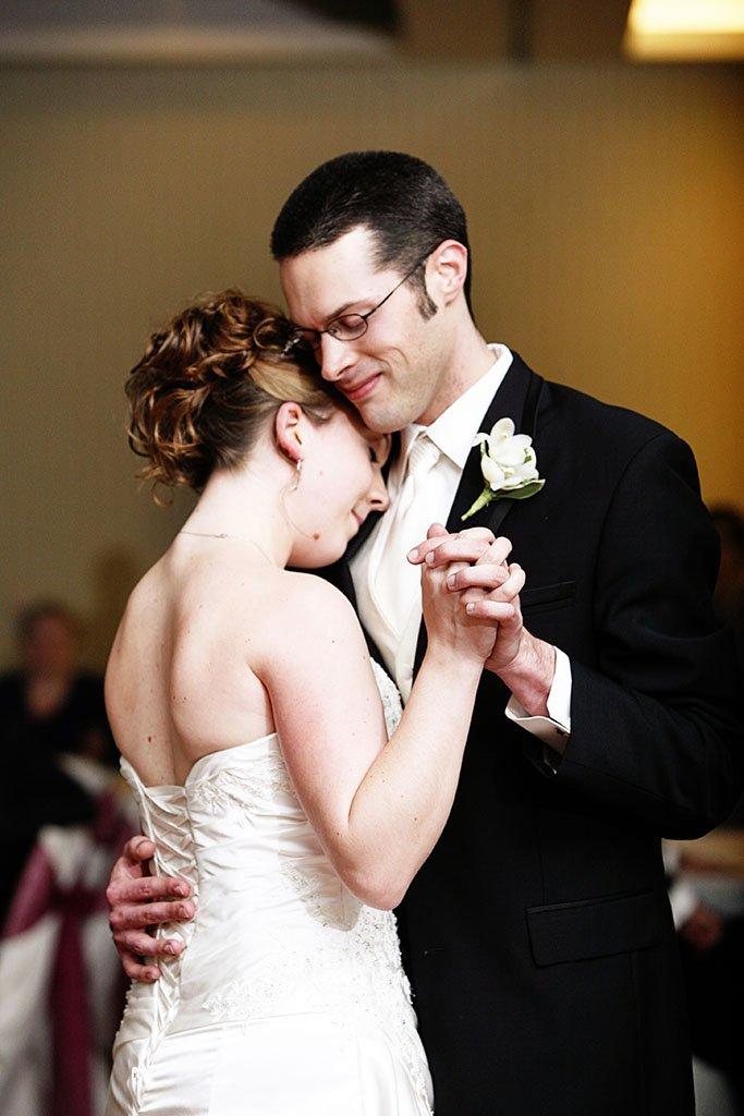 Wyndham Hotel Glenview Wedding Reception First Dance, Erin & Joe Married